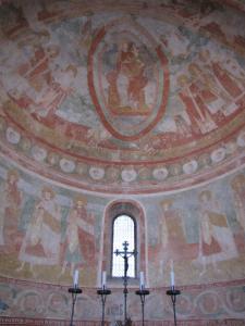 210) Basilica Di Aquileia - Fresken im Altarbereich