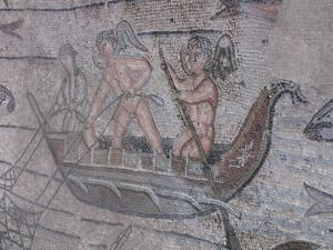 212) Basilica Di Aquileia - Mosaik Fischer
