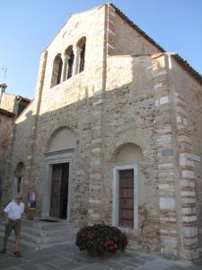 255) Grado - Basilica S Maria delle Grazie außen