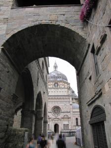 709) Bergamo - Cappella Colleoni vom Durchgang aus