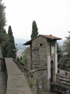 726) Bergamo - Tor zum Kastell