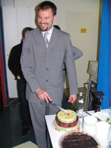16 die torte - anschnitt