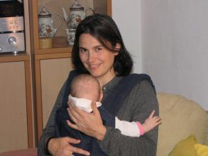 2010 08 Martina mit Sarah (Henning)
