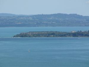 063) Padenghe sul Garda - Panorama auf den Gardasee