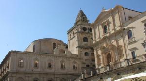 025 12-404 Noto - Basilica Sante Salvatore e Monastero und Chiesa di San Francesco d Assisi