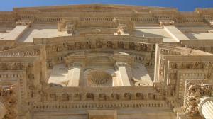 027 12-410 Noto - Chiesa di San Francesco d Assisi  Portal von unten Detail