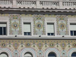 307) Trieste - Palazzo del Governo Ausschnitt