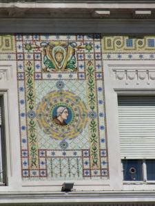 308) Trieste - Palazzo del Governo Ausschnitt nah