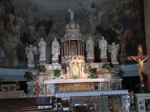 316) Trieste - S Maria Maggiore - Altar