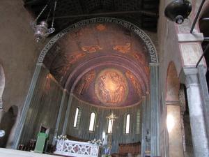 318) Trieste - Cattedrale di S Giusto - Altarraum