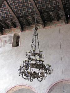 320) Trieste - Cattedrale di S Giusto - Kronleuchter