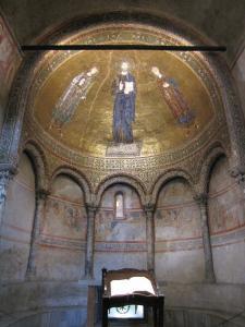 321) Trieste - Cattedrale di S Giusto - Seitenschiff San Giusto Totale