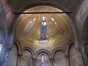 322) Trieste - Cattedrale di S Giusto - Seitenschiff San Giusto Kuppel