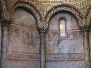 323) Trieste - Cattedrale di S Giusto - Seitenschiff San Giusto Fresken