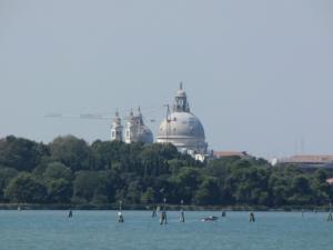405) Venedig - Salute vom Wasser aus