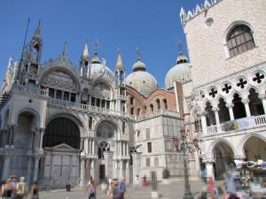 413) Venedig - S Marco - Südfassade