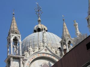 414) Venedig - S Marco - Kuppel von außen