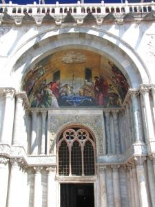 418) Venedig - S Marco - Fronteingang 2 (vlnr) komplett