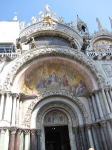 420) Venedig - S Marco - Fronteingang 3 (Mitte) komplett