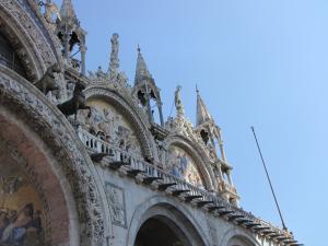 426) Venedig - S Marco - Front oben rechts