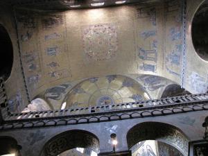 429) Venedig - S Marco - Decke Mitte