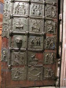 130) Verona - San Zeno Maggiore - Bronzetür