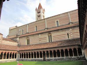 144) Verona - San Zeno Maggiore - Kreuzgang