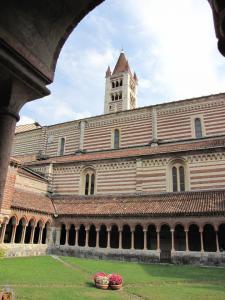 145) Verona - San Zeno Maggiore - Kreuzgang