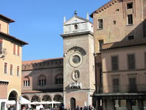 032) Mantova - Torre dell' Orologio