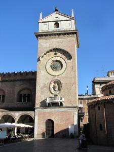 033) Mantova - Torre dell' Orologio