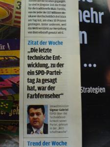 SPD-Fortschrittsfeindlichkeit